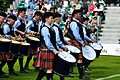 SFU Pipe Band performs at the Worlds (7761916902).jpg