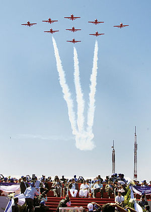 Surya Kiran - Surya Kiran Aerobatic Team (SKAT) based at Air Force Station Bidar