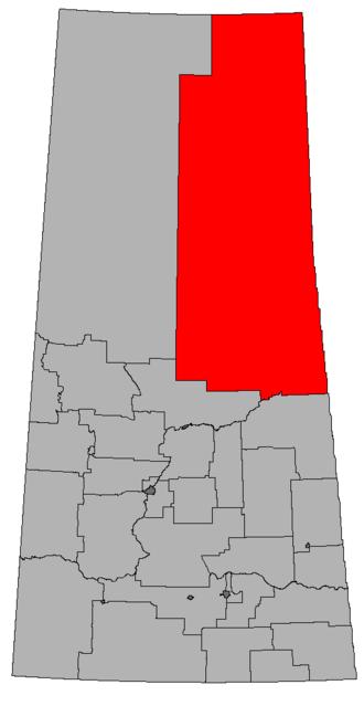 Cumberland (Saskatchewan provincial electoral district) - Image: SK 2016 Cumberland