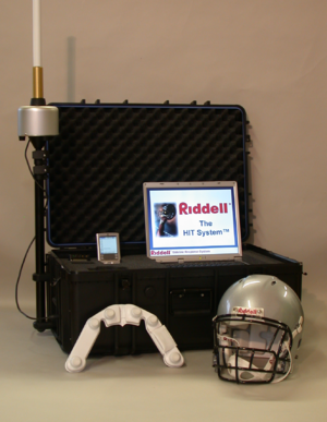 Head impact telemetry system - Sideline Response System, Riddell Inc. (Chicago, IL)
