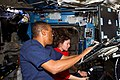 STS-133 ISS-26 Alvin Drew and Cady Coleman.jpg