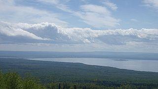 Lesser Slave Lake lake in Alberta, Canada