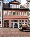 """Saalfeld Saalstraße 15 Wohn- und Geschäftshaus Bestandteil Denkmalensemble """"Stadtkern Saalfeld-Saale"""".jpg"""