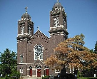Wabaunsee County, Kansas - Image: Sacred Heart Catholic Church