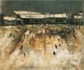 SaekiYūzō-1927-Snow Scene.png
