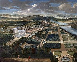 Château de Saint-Cloud former royal palace in France, today a national park