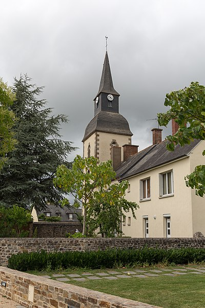 Church of Saint-Pierre-la-Cour.