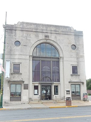St. Clair, Pennsylvania - Image: Saint Clair State Bank, Schuylkill Co PA