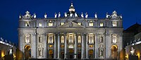 Saint Peter's Basilica at night HD.jpg