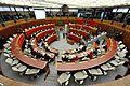 Sala del Consiglio - piazza Dante - Trento.JPG