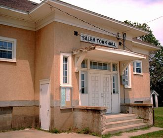 Salem Township, Olmsted County, Minnesota - Salem Town Hall.