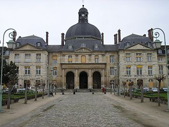 Pitié-Salpêtrière Hospital - Pitié-Salpêtrière Hospital chapel