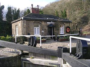 Salterhebble - Salterhebble Lock Keeper's Cottage