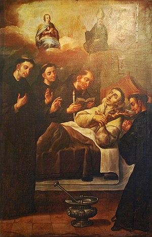 Salvador of Horta - Death of Saint Salvador of Horta Viceregal Museum of Zinacantepec, Mexico
