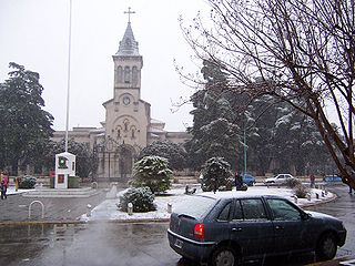 San Antonio de Padua City in Buenos Aires, Argentina