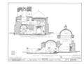 San Jose de Tumacacori (Mission, Ruins), Tubac, Santa Cruz County, AZ HABS ARIZ,12-TUBA.V,1- (sheet 12 of 33).png
