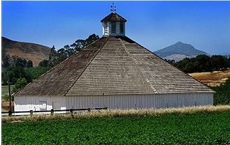 San Luis Obispo Octagon Barn - Restored barn, late 2008