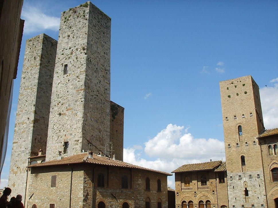 San gimignano piazza duomo 08 torre