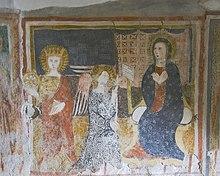 Affresco della chiesa di San Michele Arcangelo