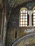 San vitale, ravenna, int., presbiterio, mosaici dell'arcone 02.JPG