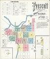 Sanborn Fire Insurance Map from Prescott, Yavapai County, Arizona. LOC sanborn00170 003-1.jpg