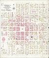 Sanborn Fire Insurance Map from Springfield, Sangamon County, Illinois. LOC sanborn02163 004.jpg
