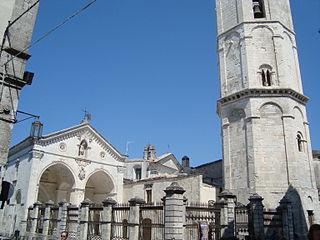 Monte SantAngelo Comune in Apulia, Italy
