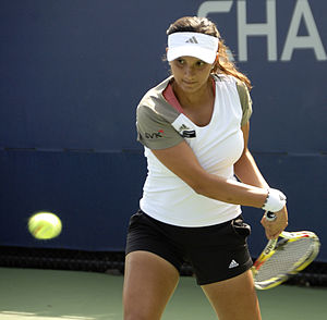 Sania Mirza at the 2009 US Open