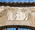 Sankt Veit Burggasse 9 Herzogsburg Supraporte mit Kaerntner Wappen und Bindenschild 1524 14122016 5688.jpg