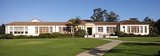 Santa Barbara High School - Main Building is a designated landmark