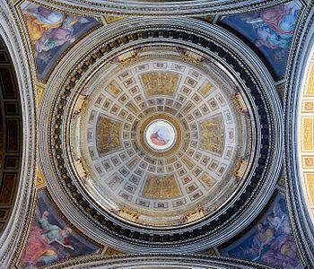 Santissima Trinità dei Pellegrini (Rome) - Dome