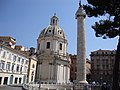 Santissimo Nome di Maria and Trajan's Column, Rome - panoramio (1935).jpg