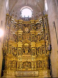 Santo Domingo de la Calzada - Catedral, retablo mayor 02.jpg