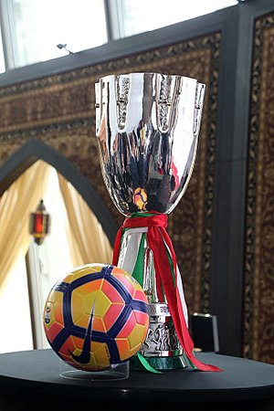 Supercoppa Italiana - The Supercoppa Italiana won by Milan in 2016.