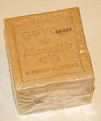 Handicraft made Marseille soap