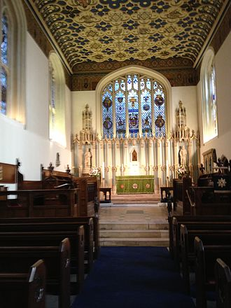 Lutheran Church in Great Britain - Interior of The Savoy Chapel
