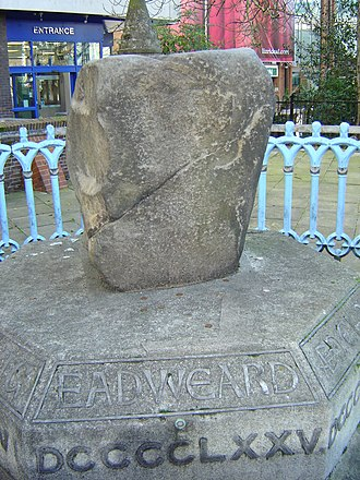 Royal Borough of Kingston upon Thames - The Saxon Coronation Stone