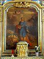 Sceaux (92), église Saint-Jean-Baptiste (92), autel latéral sud, retable de saint Mammès 2.jpg