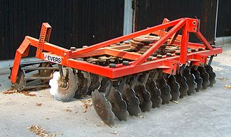 Disc harrow - An Evers disc harrow