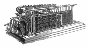 Per Georg Scheutz - Scheutz's calculator