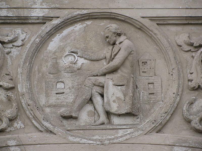 File:Schiffahrtsgebäude Papin-Medaillon Detail.jpg