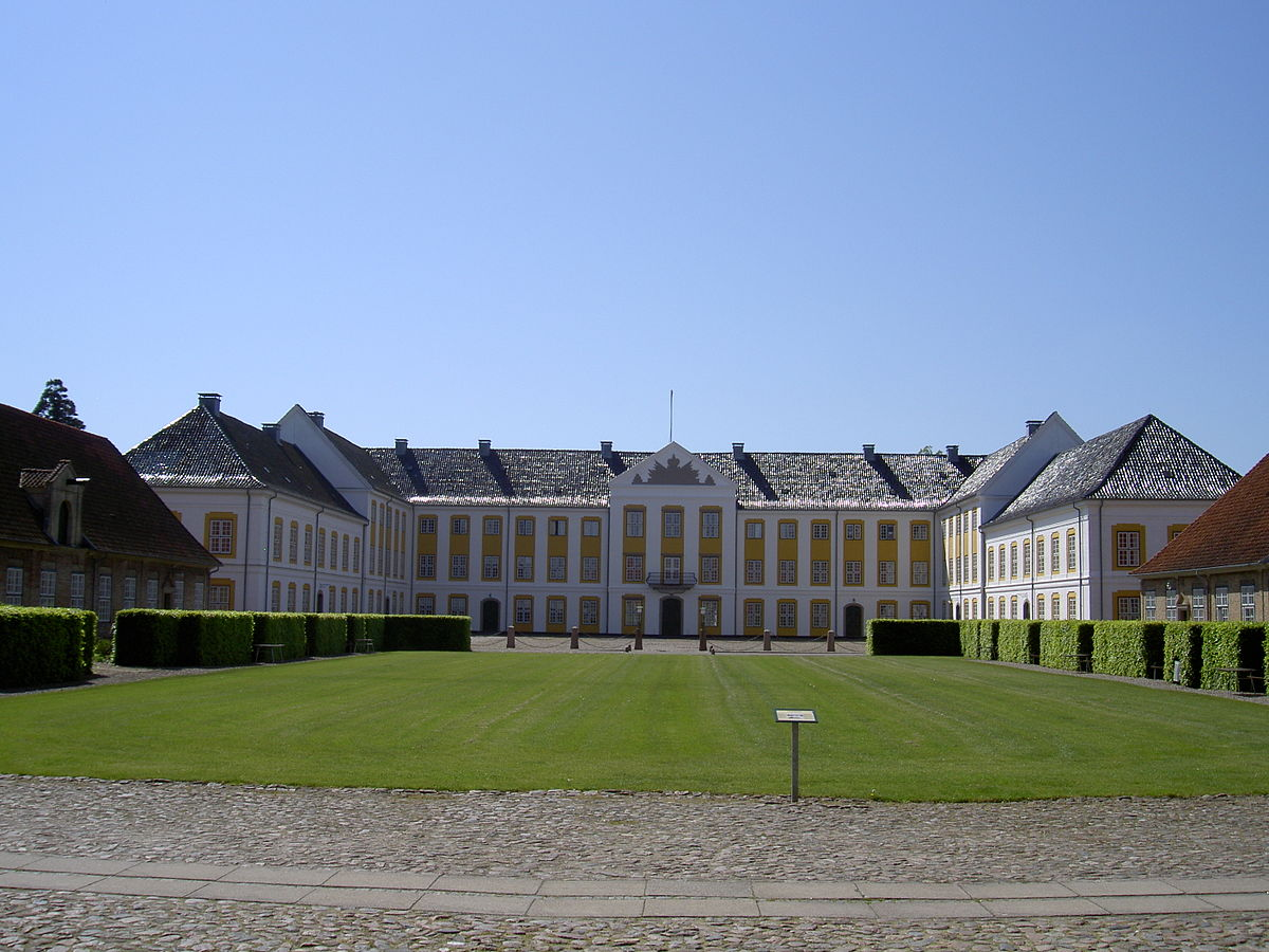 augustenborg chat sites Rococo-style palace in augustenborg, als island, denmark.