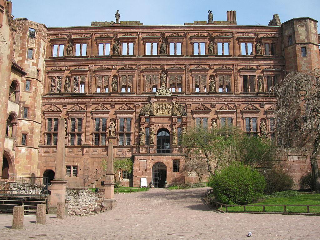 Schloss Heidelberg Ottheinrichsbau