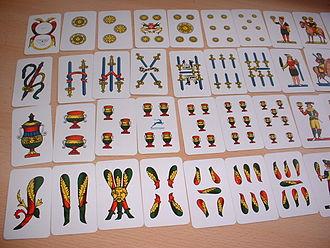 "Scopa - ""Napoletane"" cards by Modiano"