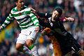 Scott McDonald (Celtic) and Graeme Smith (Motherwell).jpg