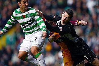 Scott McDonald - McDonald playing for Celtic in 2008.