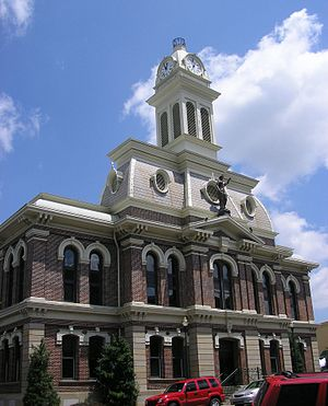 Scott County, Kentucky - Image: Scott county kentucky courthouse