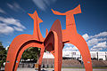 Sculpture Hellebardier Alexander Calder Nordufer Hanover Germany 03b.jpg