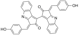 Scytonemin Chemical compound