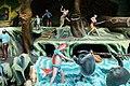 Sea creatures man, turtle, crab (Virtues and Vices display) Haw Par Villa (14793898325).jpg